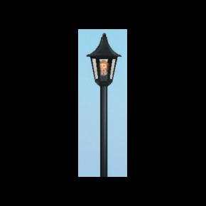 Alfa LED Κολώνα 60W με Σωλήνα Αλουμινίου Φ60 Μονόφωτη IP44 Ρόδος Plus
