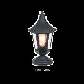 Alfa LED Κολωνάτο Φανάρι 60W E27 IP44 Ρόδος