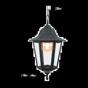 Alfa LED Κρεμαστό Φανάρι 60W E27 IP44 Πάρος