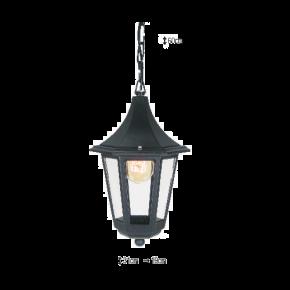 Alfa LED Κρεμαστό Φανάρι 60W E27 IP44 Ρόδος