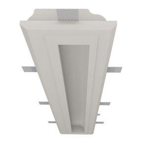 Nama Γραμμικό Γύψινο Χωνευτό Προφίλ Με Ενσωματωμένη Ταινία LED Athina 120