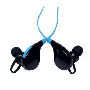 Audioline Ακουστικά Ψείρες Bluetooth Μπλε L8