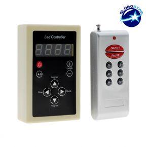 LED Digital Controller για LED Digital Strip RGB