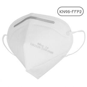 Μάσκα Υψηλής Προστασίας FFP2 - KN95 EN149:2001+A1:2009 GB2626-2006 1 Τεμάχιο σε Αποστειρωμένη Συσκευασία GloboStar 777770