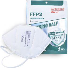 Μάσκα Υψηλής Προστασίας FFP2 - KN95 EN149:2001+A1:2009 GB2626-2006 Τεμάχιο