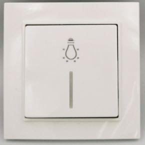 BAS Μπουτόν Φωτισμού Με LED 220V NEFELI Λευκό