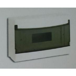 BAS Επίτοιχος Πίνακας 2 Θέσεων Με Πόρτα IP40