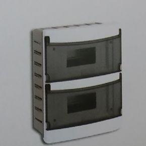 BAS Χωνευτός Πίνακας 12 Θέσεων Με Πόρτα IP40