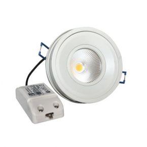 Dio Στρογγυλό LED Panel 10W COB Περιστροφικό