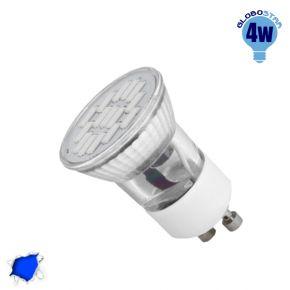 LED Spot GU10 M35 4W 230v Μπλε