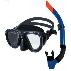 BlueWave Μάσκα Θαλάσσης Set Leon TPP