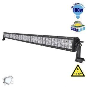 Μπάρα LED 180W CREE Combo 10-30v DC Ψυχρό Λευκό