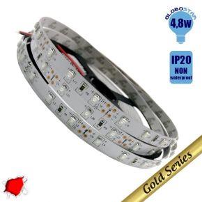 Ταινία LED 4.8 Watt 12 Volt Κόκκινο IP20