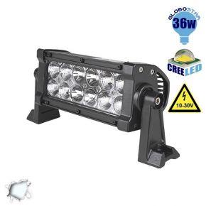 Μπάρα LED 36W CREE Combo 10-30v DC Ψυχρό Λευκό