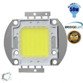 Υψηλής Ισχύος Led 50 Watt Globostar Ψυχρό Λευκό BRIDGELUX