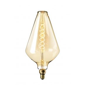 Calex XXL GOLD LED Λάμπα 6W Filament E27 Φ188mm Dimmable