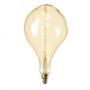 Calex XXL GOLD LED Λάμπα 6W Filament E27 Φ165mm Dimmable