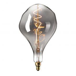 Calex XXL Titanium LED Λάμπα 6W Filament E27 Φ165mm Dimmable