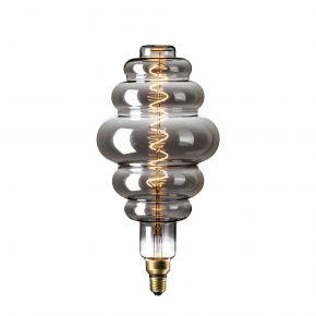 Calex XXL Titanium LED Λάμπα 6W Filament E27 Φ200mm Dimmable