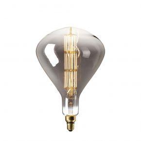Calex XXL Titanium LED Λάμπα 6W Filament E27 Φ245mm Dimmable