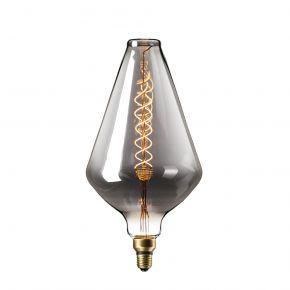 Calex XXL Titanium LED Λάμπα 6W Filament E27 Φ188mm Dimmable