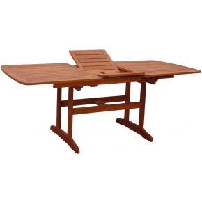 Campus Ξύλινο Τραπέζι Παραλ/Μο Με Προσθήκη Και Ρυθμιστή Ύψους Meranti