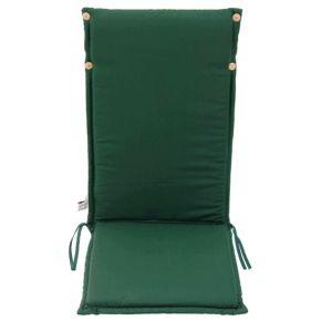 Campus Μαξιλάρι Για Καρέκλα Με Ψηλή Πλάτη Διπλής Όψης Πράσινο Εκρού