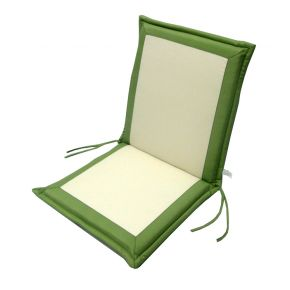 Campus Μαξιλάρι Για Καρέκλα Με Χαμηλή Πλάτη Διπλής Όψης Εκρού