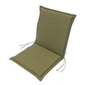 Campus Μαξιλάρι Για Καρέκλα Με Χαμηλή Πλάτη Διπλής Όψεως Καφέ