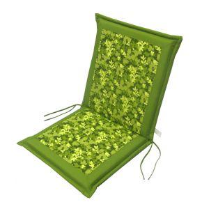 Campus Μαξιλάρι Για Καρέκλα Με Χαμηλή Πλάτη Διπλής Όψεως Floral