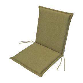 Campus Μαξιλάρι Για Καρέκλα Με Χαμηλή Πλάτη Διπλής Όψης Μπεζ