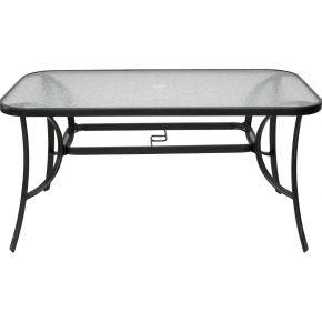 Campus Μεταλλικό Τραπέζι Ανθρακί 140x75x72cm
