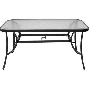 Campus Μεταλλικό Τραπέζι Ανθρακί 160x85x72cm