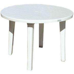 Campus Πλαστικό Τραπέζι Στρογγυλό 90x71cm