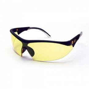 CAT Γυαλιά Εργασίας-Προστασίας 2-1.2 Κίτρινα Με Υψηλής Αντοχής Επίστρωση Φακών Για Αποφυγή Γδαρσίματος