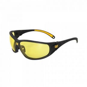 CAT TREAD-112 Γυαλιά Εργασίας-Προστασίας 2-1.2 Κίτρινα Με Αντι-Θαμβωτική Επίστρωση