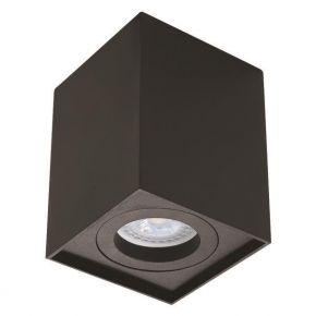 Eurolamp Φωτιστικό Οροφής Τετράγωνο GU10