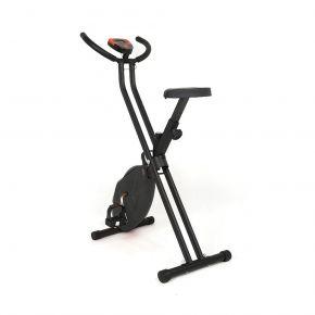 Clever Σπαστό Ποδήλατο Γυμναστικής Πτυσσόμενο Μαύρο