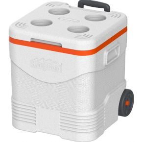 Cosmoplast Ψυγείο Πάγου KeepCold Trolley Icebox 45L