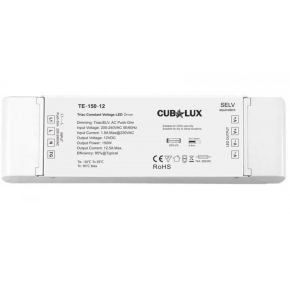 Cubalux Dimmable Τροφοδοτικό LED 150 Watt 12VDC IP20