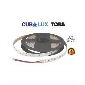Cubalux LED Ταινία TΩRA 9.6W/m Μονόχρωμη 24V IP65 5m