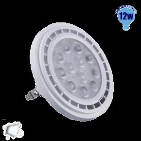 Λαμπτήρας LED AR111 Globostar 36 Μοίρες 12 Watt 230v Ψυχρό