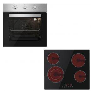 Davoline Φούρνος Εντοιχιζόμενος DDXO 6004 + Κεραμική Εστία BVC 6005