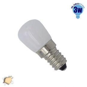 Λαμπάκι LED Globostar E14 3 Watt Ψυγείου Θερμό