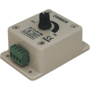 Cubalux Dimmer με ποτενσιόμετρο 8A 12-24Vdc