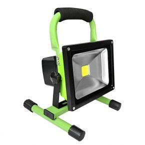 Dio Επαναφορτιζόμενος LED Προβολέας 20W με Βάση