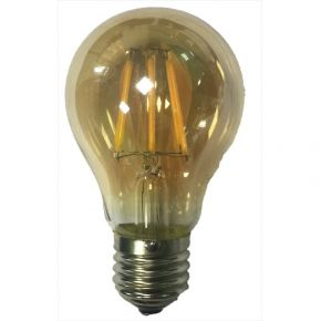 Dio LED Διακοσμητική Λάμπα 6W E27 Amber Vintage Dimmable