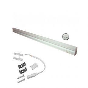 Dio LED Γραμμικό Φωτιστικό T5 5W με Διακόπτη