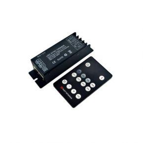 Dio LED Power Dimmer με Τηλεχειριστήριο RF 25A