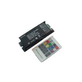 Dio LED RGB Controller με Τηλεχειριστήριο RF 18A